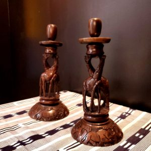 Giraffe Candle Set-