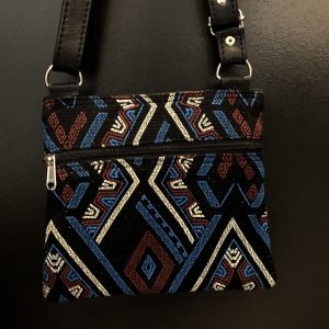 African renaissance zippered tote