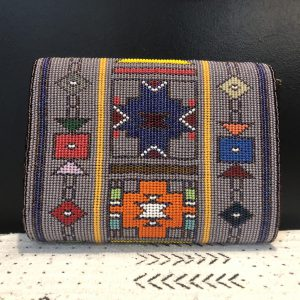 Beaded clutch large