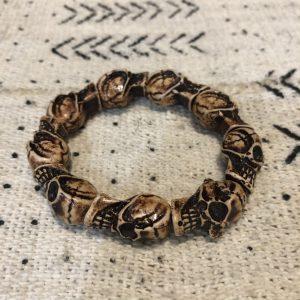 Angola skull bracelet