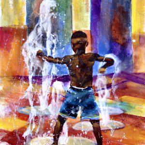 Fountain Fighter