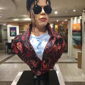 Michael Jackson Sculpture